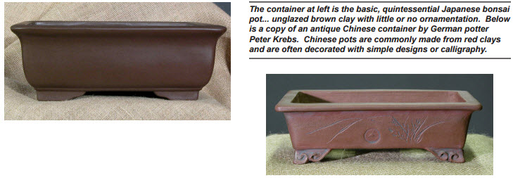 Today Bonsai Containers Are Readily Available In A Wide Variety Of Shapes Colors And Sizes The Beginning Only Anese Were
